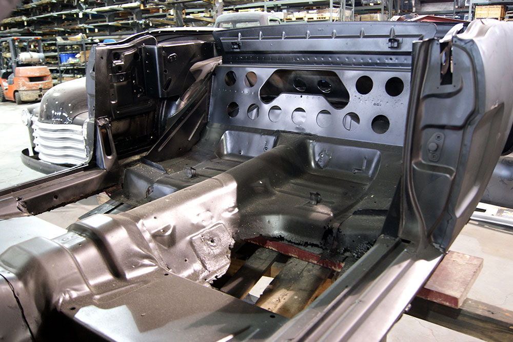 Fabrication of car body
