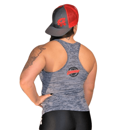 Rehab Garage grey tank top for female