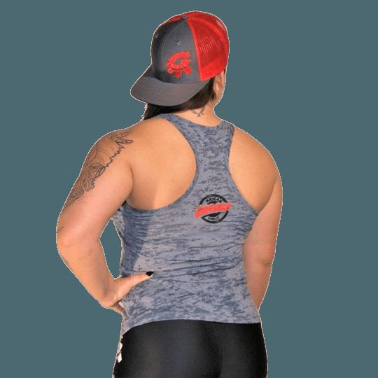 Rehab Garage grey tank top for female